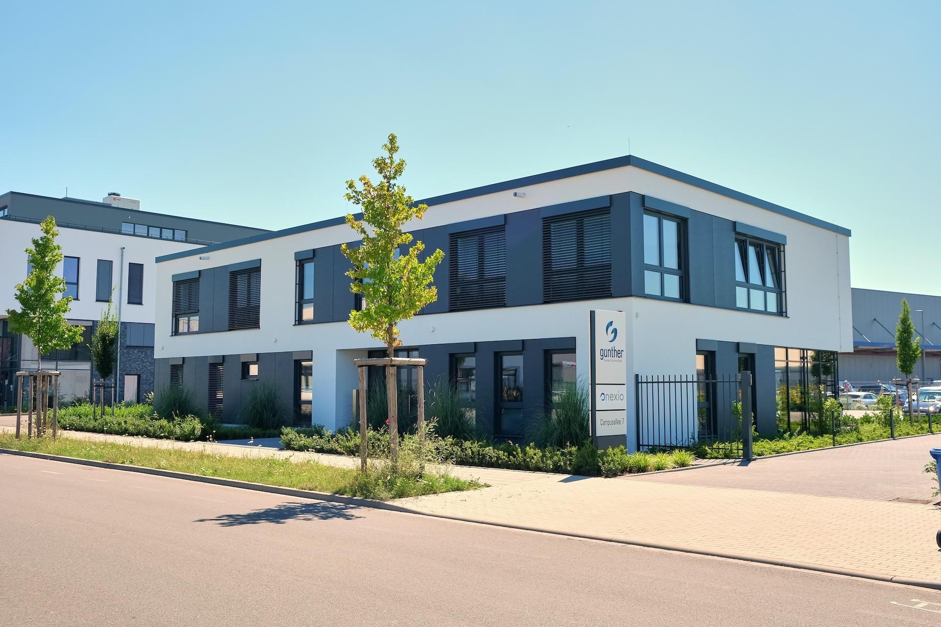 Firmengebäude | onexio GmbH / Günther Business Solutions GmbH