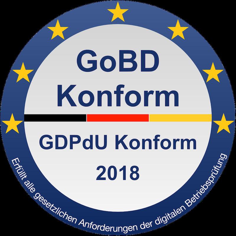 onexio® | GoBD Konform
